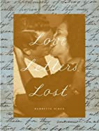 Love Letters, Lost by Babbette Hines