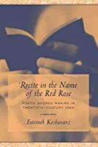 Recite in the Name of the Red Rose: Poetic…