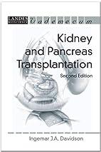 Kidney and Pancreas Transplantation:…