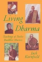 Living Dharma by Jack Kornfield