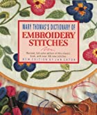 Mary Thomas's Dictionary of Embroidery…