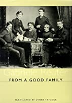 From A Good Family (Studies in German…