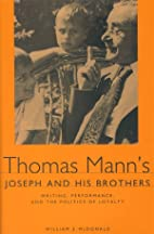 Thomas Mann's Joseph and His Brothers:…