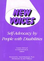 New Voices: Self-Advocacy by People With…