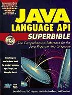 Java Language Api Superbible (Java API…