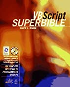 VBScript superbible : the complete reference…