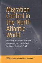 Migration Control in the North Atlantic…
