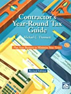 Contractor's Year-Round Tax Guide: Plan Your…