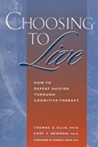 Choosing to Live: How to Defeat Suicide…