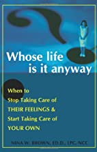 Whose Life Is It Anyway: When to Stop Taking…