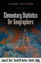 Elementary Statistics for Geographers:…