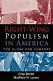 Berlet, Chip: Right-Wing Populism in America: Too Close for Comfort