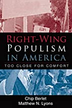 Right-Wing Populism in America: Too Close…