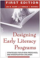 Designing Early Literacy Programs:…