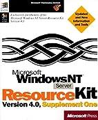 Microsoft Windows NT Server 4.0 Resource Kit…