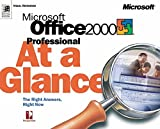 Perspection, Inc: Microsoft Office 2000 Professional at a Glance