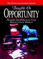 Thoughts on Opportunity (Forbes Leadership…