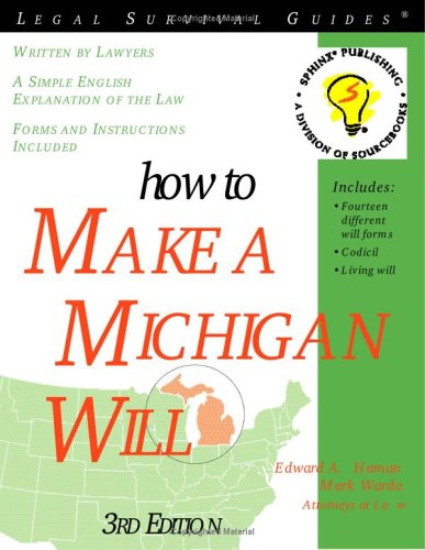 how-to-make-a-michigan-will-3e-legal-survival-guides