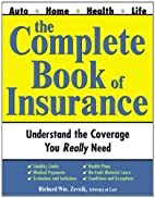 The Complete Book of Insurance by Zevnik