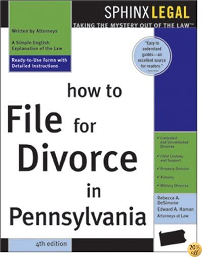 THow to File for Divorce in Pennsylvania (Legal Survival Guides)