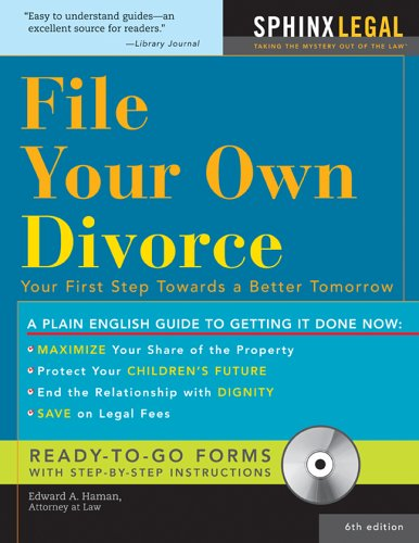 file-your-owndivorce-6e-cd-how-to-file-your-own-divorce