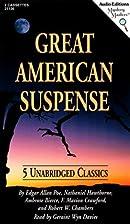 Great American Suspense: Five Unabridged…