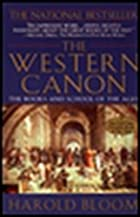 The Western Canon: The Books and School of…