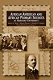 Burg, Barbara A.: Guide To African American And African Primary Sources At Harvard University: