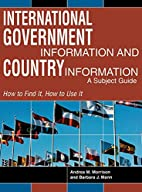 International Government Information and…