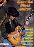 Celantano, Dave: Essential Blues Guitar: An Emphasis on the Essentials of Blues  Chord Changes, Scales, Rhythms, Turn Arounds, Phrasing, Soloing, and Examples Plus 10 Rhythm Tracks for soloi