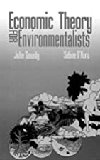 Economic Theory for Environmentalists by…