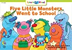 Five Little Monster Went To School (Social…