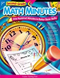 Higgs, Angela: Second Grade Math Minutes: One Hundred Minutes to Better Basic Skills