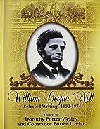 William Cooper Nell: Nineteenth-Century…