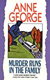 George, Anne: Murder Runs in the Family (Beeler Large Print Mystery Series)
