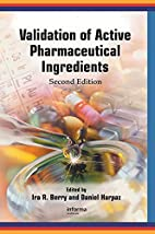 Validation of active pharmaceutical…