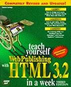 Sams Teach Yourself Web Publishing With Html…