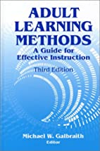 Adult Learning Methods: A Guide for…