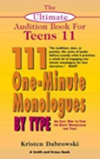 The Ultimate Audition Book for Teens Volume…