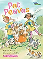 Pet Peeves (Social Studies Connects) by…