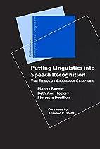 Putting Linguistics Into Speech Recognition:…