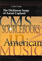 The Dickinson Songs of Aaron Copland (Cms…