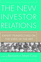 The New Investor Relations: Expert…