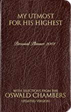 My Utmost for His Highest Daily Planner -…