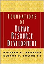 Foundations of Human Resource Development by…