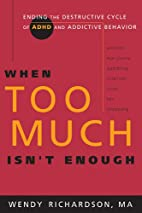 When Too Much Isn't Enough: Ending the…