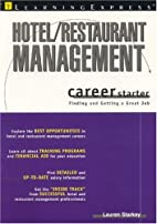 Hotel/Restaurant Management Career Starter…