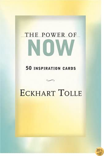 TThe Power of Now: 50 Inspiration Cards