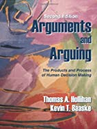 Arguments and Arguing: The Products and…