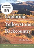 Bach, Orville: Exploring the Yellowstone Backcountry